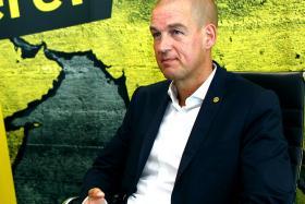 Borussia Dortmund's chief operating officer CARSTEN CRAMER