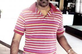 SINGAPORE LINK: An old photo of Titani Periasamy, former Clementi Khalsa midfielder, who is alleged to have wired money to Nepal football players who were arrested on Wednesday.