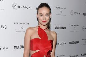 Olivia Wilde at the Meadowland New York premiere on October 11, 2015.