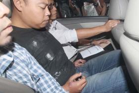 Kovan double murder suspect, Iskandar Rahmat.
