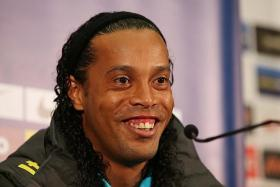 RONALDINHO: Just completed a nine-game stint with Fluminense.