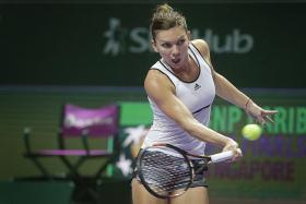 I have great memories from last year. It was the first time I played in the WTA Finals and I went to the final. I had confidence and I beat Serena in my biggest match ever. — World No. 2 Simona Halep (above), who has an affinity with Singapore when she beat Serena Williams in the group stages but lost in the final last year