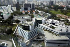 LOCATION: Aerial view of Singapore General Hospital and its compound where 22 patients contracted hep C.