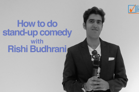 Full-time comedian Rishi Budhrani gives The New Paper five tips on how to be a stand-up comedian.