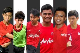 From left to right: Joel Chew, Benjamin Davies, Glenn Kweh, Saifullah Akbar, Hami Syahin and Joshua Pereira.
