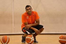 """I am not an NJC basketball player. I am an NJC leader who happens to play basketball."" - One of the 10 ""commandments"" of teacher-coach Shanmugadas Kumaresadas"