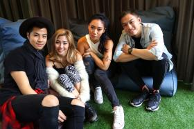 THE BAND: The Sam Willows (from left) Benjamin and Narelle Kheng, Sandra Tang and Jonathan Chua will be releasing their debut album Take Heart on Oct 30.