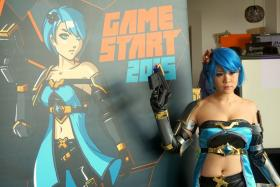 GameStart mascot Alyse will welcome gamers when the gaming convention opens its doors in November.