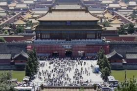 The 73-year old man was separated from his tour group and got lost in the Forbidden City of Beijing.