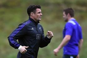 MAN IN FORM: New Zealand's Dan Carter (above) will be aiming to add to his record points in Test rugby, which stands at 1,579.
