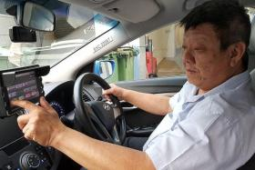 SURRENDER: Mr Goh Choon Liang has given up his search for a relief driver.