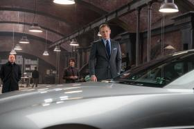 DAPPER: Daniel Craig as James Bond in the new 007 film Spectre.
