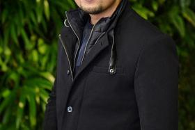 THE CAR: Example of the Toyota Mark X car that Suria actor Mr Nick Mikhail (above) rented.