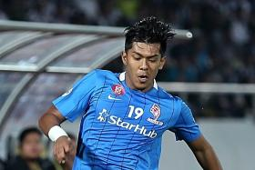 ON FORM: Khairul Amri has scored five goals in his last 10 appearances for the national team.