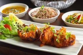 The executive set lunch at Rang Mahal.