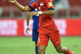 """The game against Afghanistan was my turning point. I've proven some critics wrong, and it's now time to step up in these next two games as well."" - Lions winger Faris Ramli (above)"