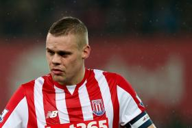 Stoke City captain Ryan Shawcross.