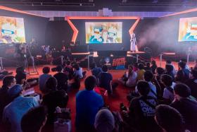 GameStart Asia 2015 is on from Nov 13-15 at the Sunctec Convention Centre.
