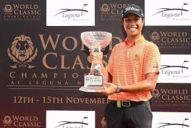DOUBLE TARGET: Danthai Boonma (above) is aiming to climb the Asian Tour of Merit and qualify for the EurAsia Cup.