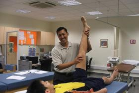 STRETCH: Injury management from a young age is important but sometimes neglected. That is where the sports physiotherapist, part of the sports science team, comes in.