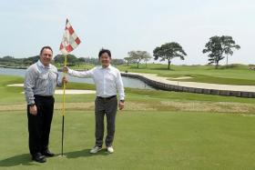 READY FOR MORE: Laguna National managing director Patrick Bowers (left) and executive director Kevin Kwee.
