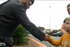 The Texan boy donated $20 as an act of kindness to his neighbourhood mosque, after hearing that it was vandalised