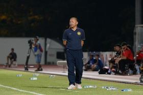 """If they want the three points, they will have to fight for it, because we also want to end our season with a win."" — Harimau Muda coach Razip Ismail's (above) message to their opponents Tampines"