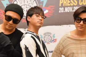 Epik High who will perform at the Skechers Sundown Festival 2015 on Nov 21.