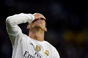 RONALDO: Suffers whistles and white flags at the Bernabeu.