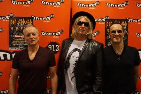 Def Leppard is in Singapore for the first time since 1996 for their concert tour.