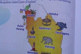 Malaysia's education ministry has vowed to correct an error in a history textbook which depicts Malacca on the east coast of Peninsula Malaysia.