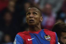 Levante's Brazilian forward Deyverson Brum Silva