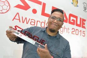 WINNERS: TNP reporter Sazali Abdul Aziz (above) and his winning article Last Man Standing.