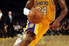 Kobe Bryant (above).