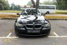 MISSING: Mr Taufiq Hidayat's father had rented out his $35,000 BMW to 'Thomas' and his uncle 'Muthu' on Oct 16.