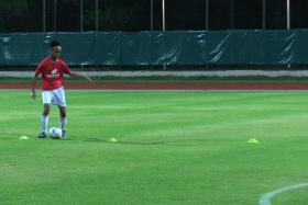 Being a part of the national cerebral palsy football team has changed Suhaimi Sudar's life.
