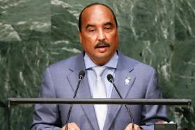 President Mohamed Ould Abdel Aziz of Mauritania