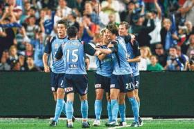 ROAR NO MORE: In solidarity with Brisbane Roar fans, Sydney FC supporters (above) plan to boycott their forthcoming game.