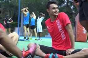 Suhairi Suhani will represent Singapore in athletics at the 8th Asean Para Games.