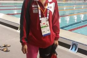 Swimmer Han Liang Chou claimed Singapore's second gold medal at the 8th Asean Para Games.