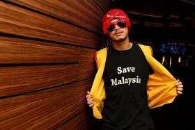 Malaysian musician-director-actor Namewee (above )