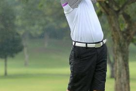 DYNAMIC DUO: Frankie Lim (above) and Willy Teo share second round honours.