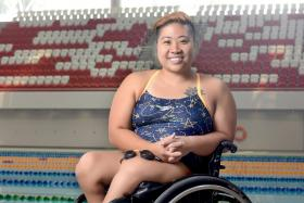 Para-swimmer Theresa Goh hangs up her goggles