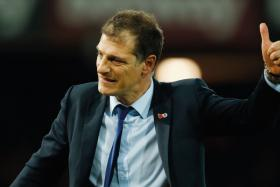 """""""We can call it controlled football, patient football, but it is so far very effective because they are sitting well in the table."""" - West Ham manager Slaven Bilic (above) on Man United's style"""