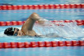 Swimmer Theresa Goh began Team Singapore's charge to surpass their Asean Para Games record gold medal haul by winning the women's 50m free S5 event.