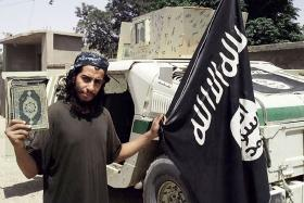 An undated photo purportedly showing 27-year-old Belgian ISIS group leading militant Abdelhamid Abaaoud.