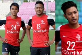 Firdaus Kasman, Izzdin Shafiq and Christopher van Huizen are among the players who have received offers from S.League clubs.