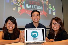 WINNER: Team Mixer won first prize with their app, TableAround.