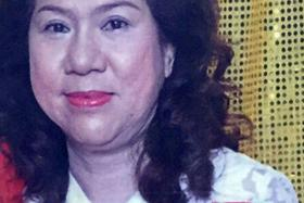 She should have been able to combat the dengue symptoms because she didn't have prior medical conditions other than high blood pressure and arthritis. - Dr Michelle Chang, whose mother, Madam Connie Tan (above), died of dengue on Wednesday