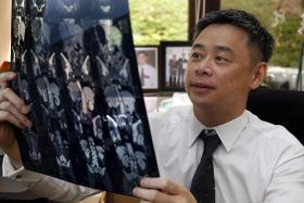 AGE LINK: Dr Tay Miah Hiang says kidney cancer is more common for men above 60 years old.